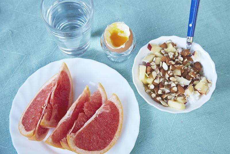 Morgenmad i Frankrig