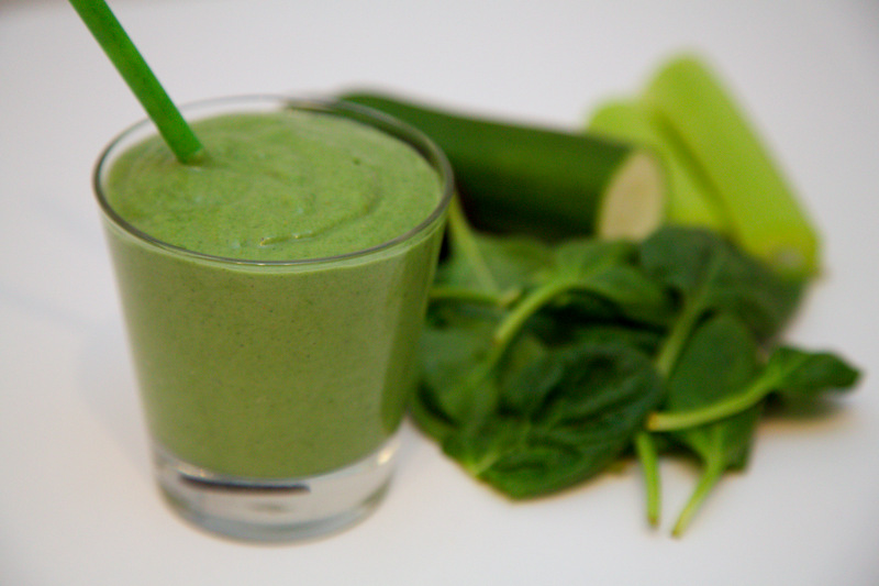 Grøn smoothie greenie Vitamix christinebonde