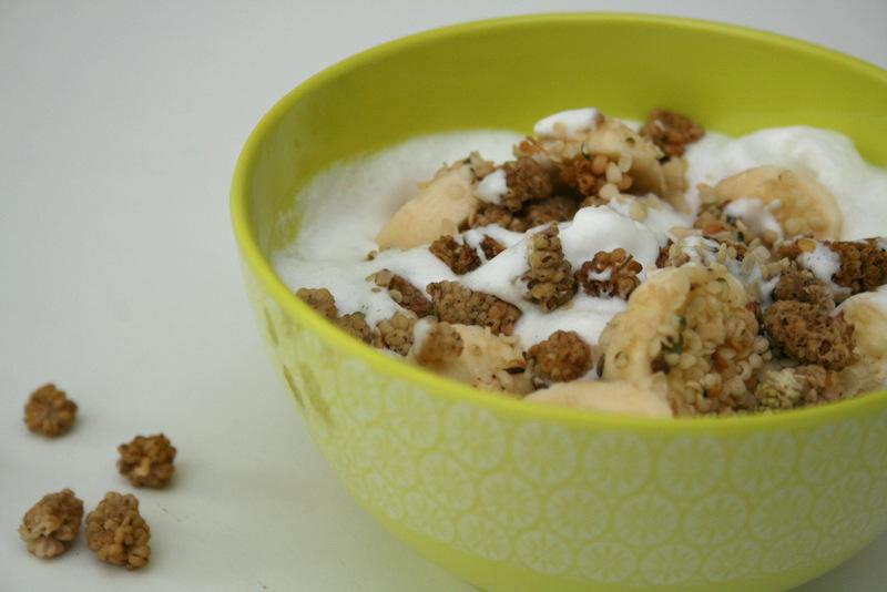 Kokosgrød morgenmad christinebonde blog