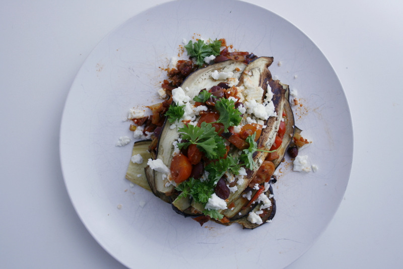 Vegetarisk glutenfri lasagne med aubergine christinebonde blog