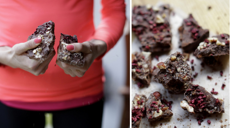 Hjemmelavet sukkerfri raw chokolade christinebonde blog