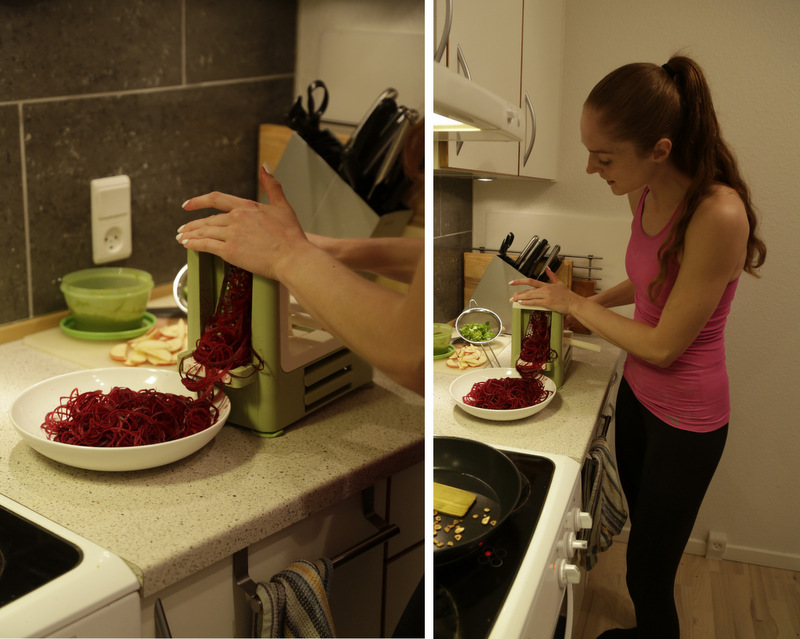 Lurch Spirali spiralizer rawfood grøntsagsspaghetti christinebonde blog