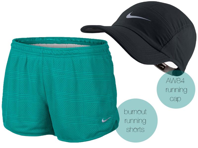Nike Burnout running shorts AW84 adjustable running hat christinebonde blog