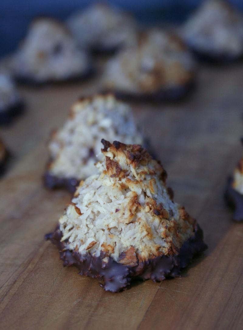 Sukkerfri kokosmakroner