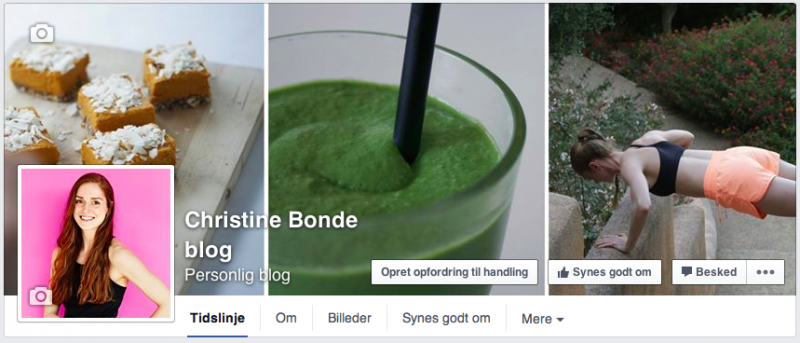 Christine Bonde blog Facebook