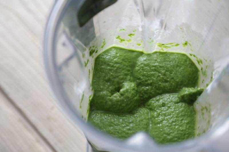 Smoothie bowl - green smoothie - greenie - Vitamix 1