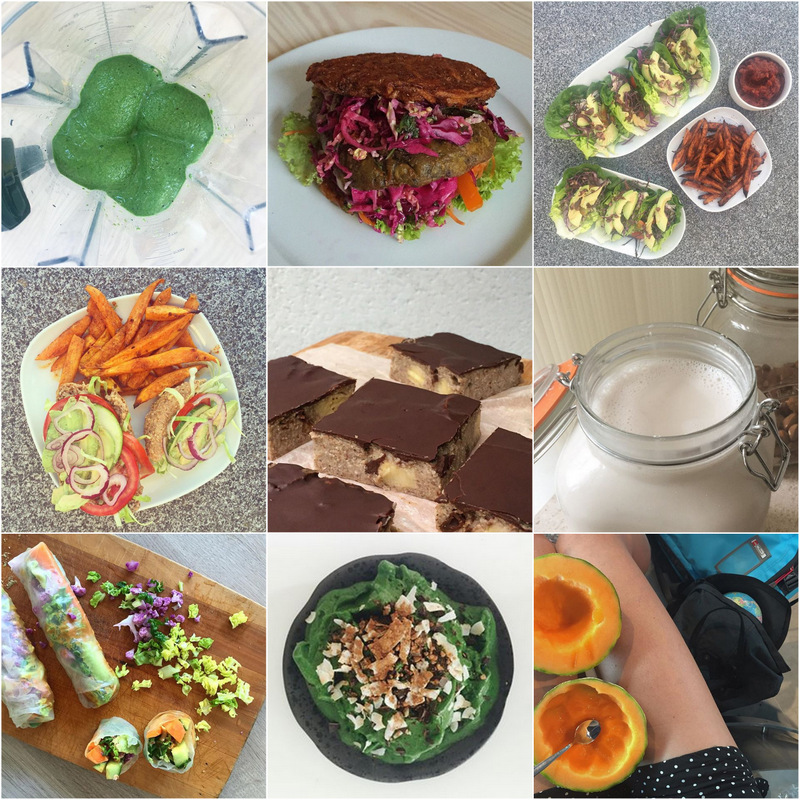 Vegansk august - vegan food inspiration