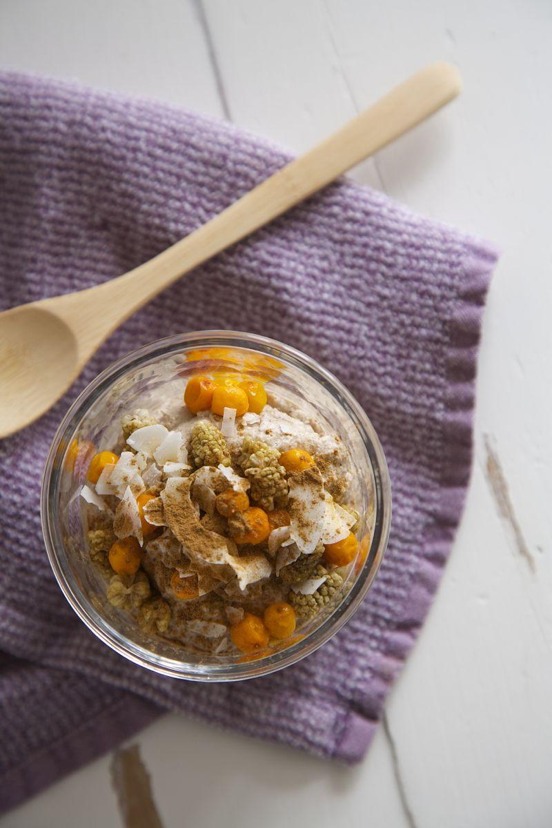 Raw buckwheat porridge - vegan, glutenfree, sugarfree4
