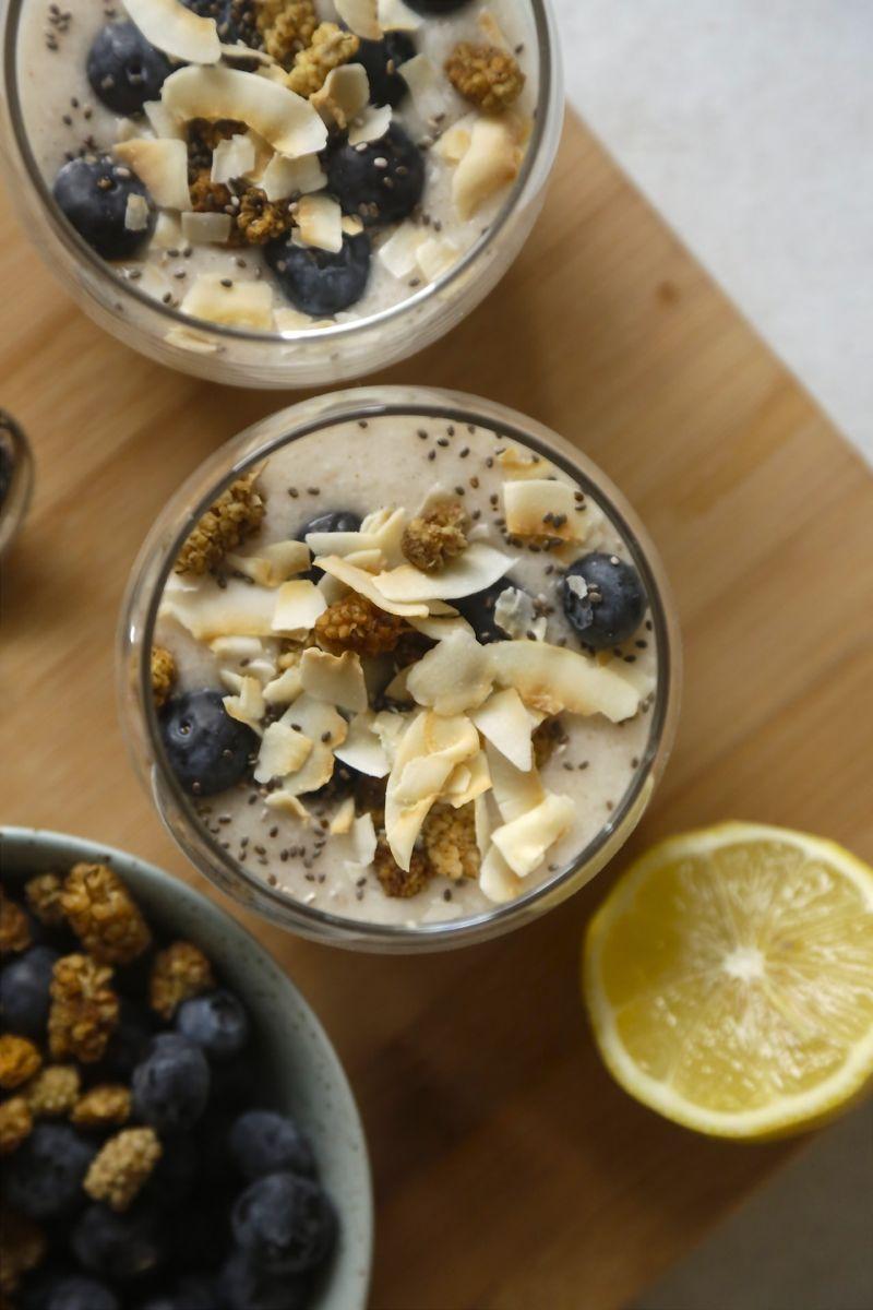 Cremet kokosyoghurt med citron og vanilje1