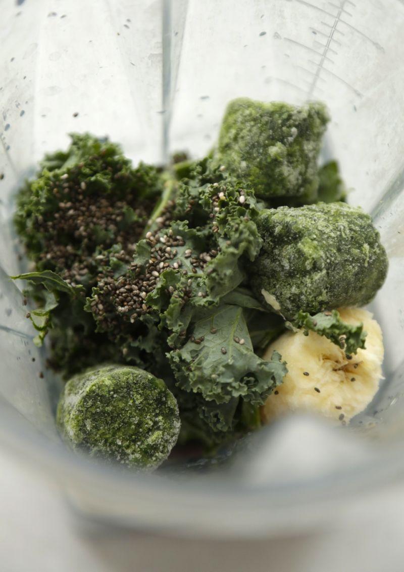 Greenie med grønkål, spinat og hamp1