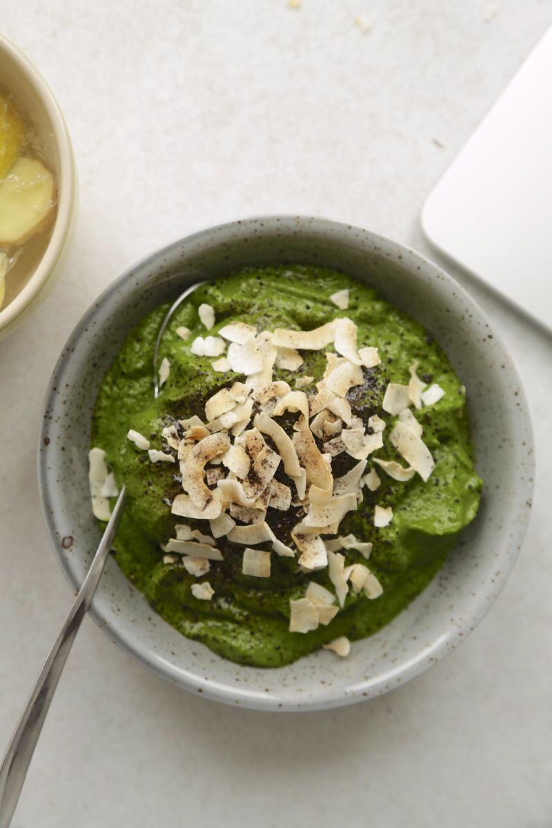 Greenie med grønkål, spinat og hamp3