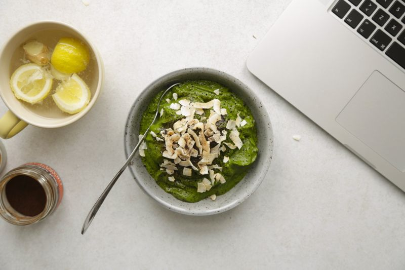 Greenie med grønkål, spinat og hamp4