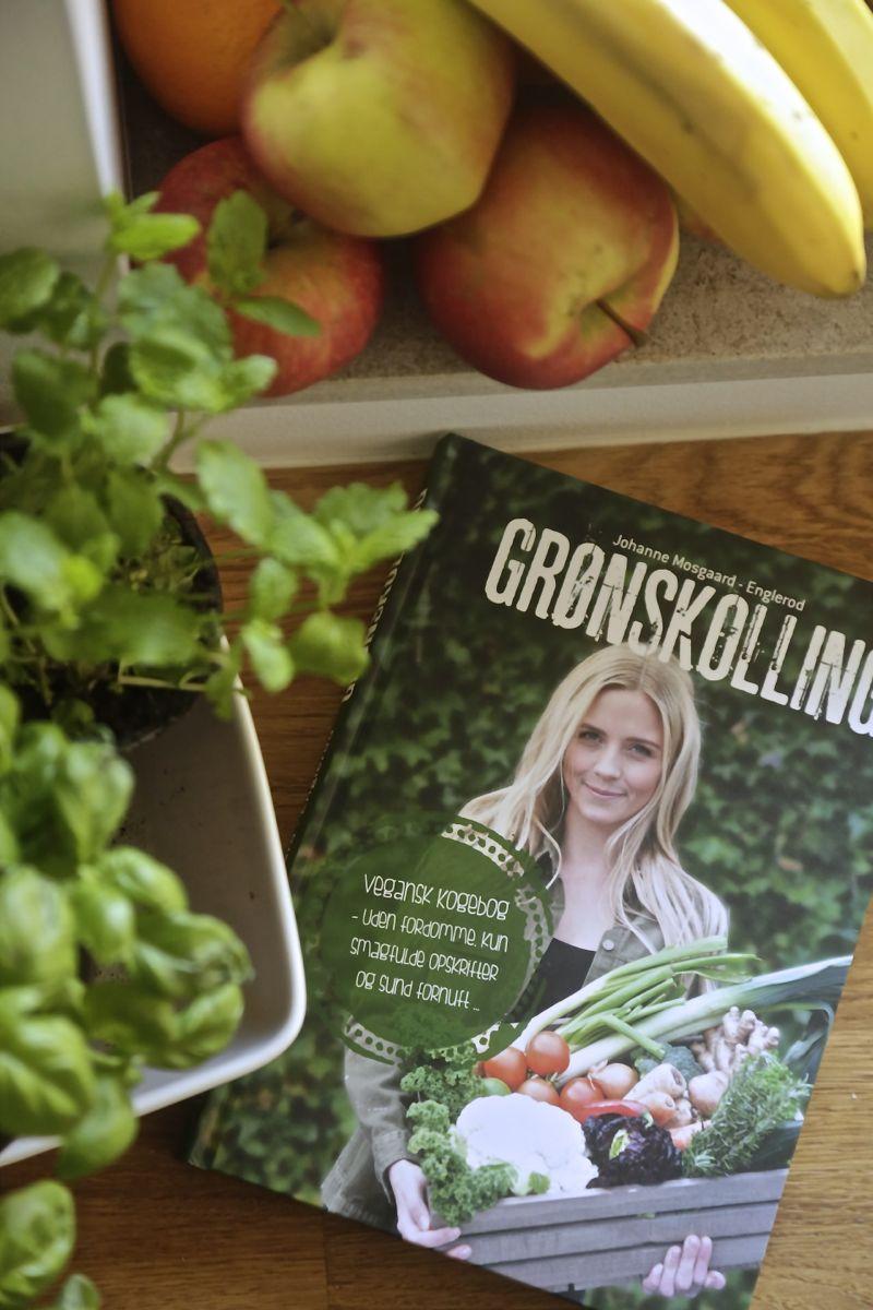 Christine Bonde blog - Englerod : Grønskolling, vegansk kogebog