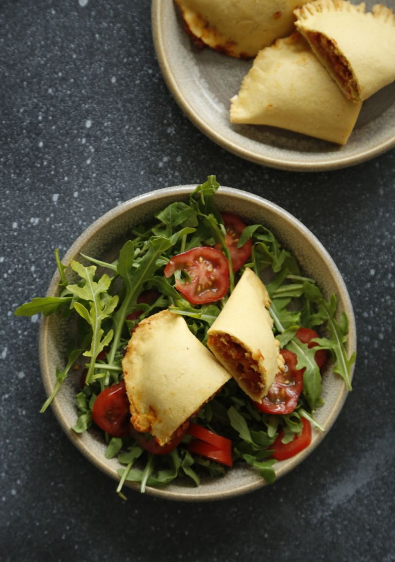 Kikærtepirogger med linsefyld fra %22Herlig og ærlig mad%221