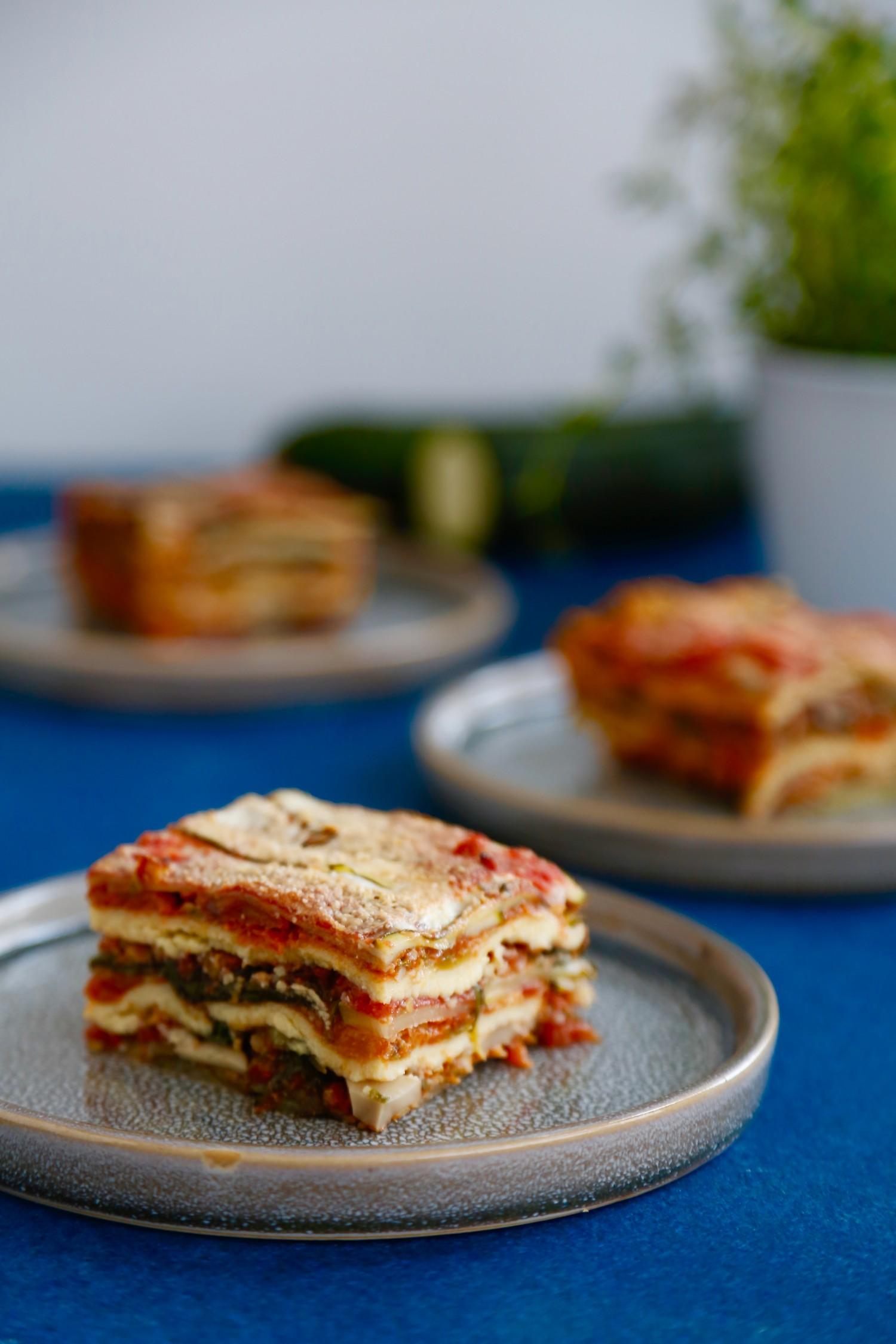 Vegansk, glutenfri og ret så overdådig lasagne2