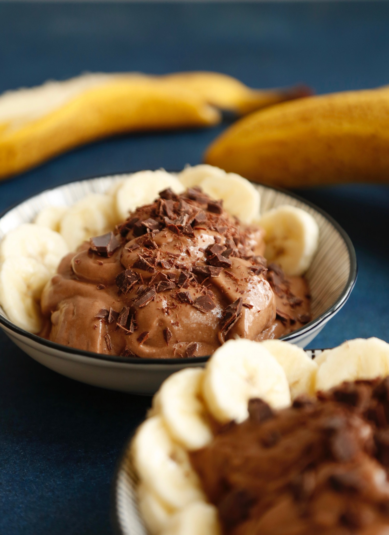 Peanutbutter nicecream med chokolade3