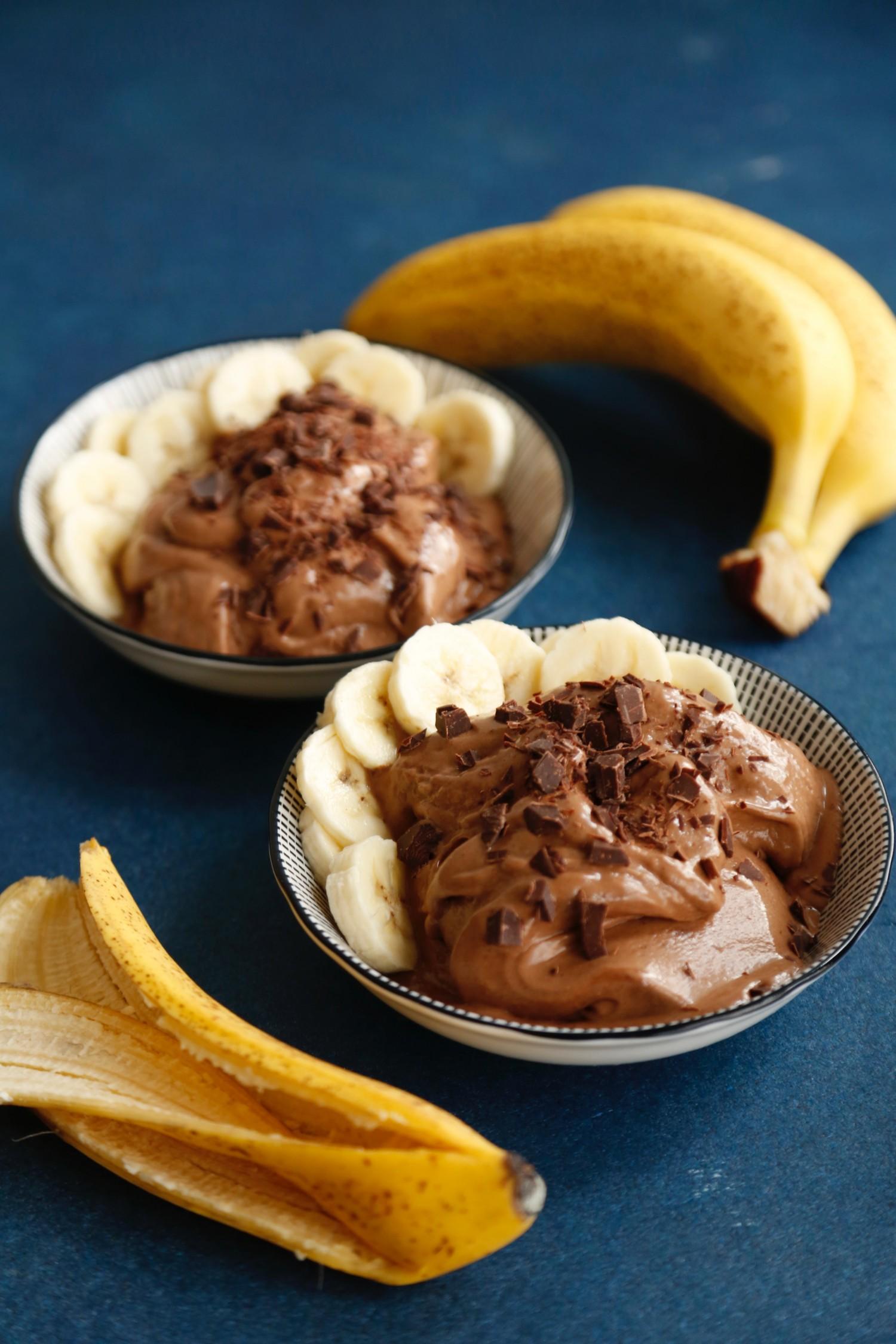 Peanutbutter nicecream med chokolade4