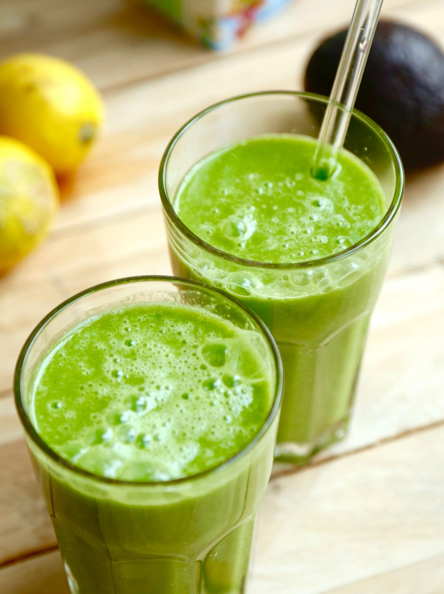 Let og forfriskende grøntsagsdrik